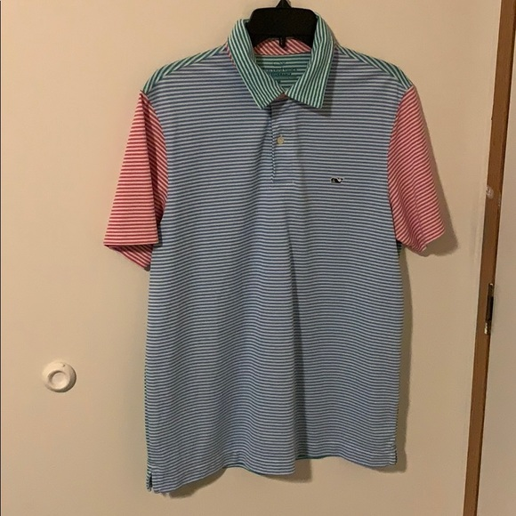Vineyard Vines Other - Vineyard Vines Party Polo Medium Performance